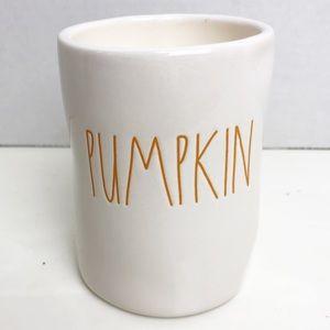 RAE DUNN Pumpkin Scent Fall Halloween Candle